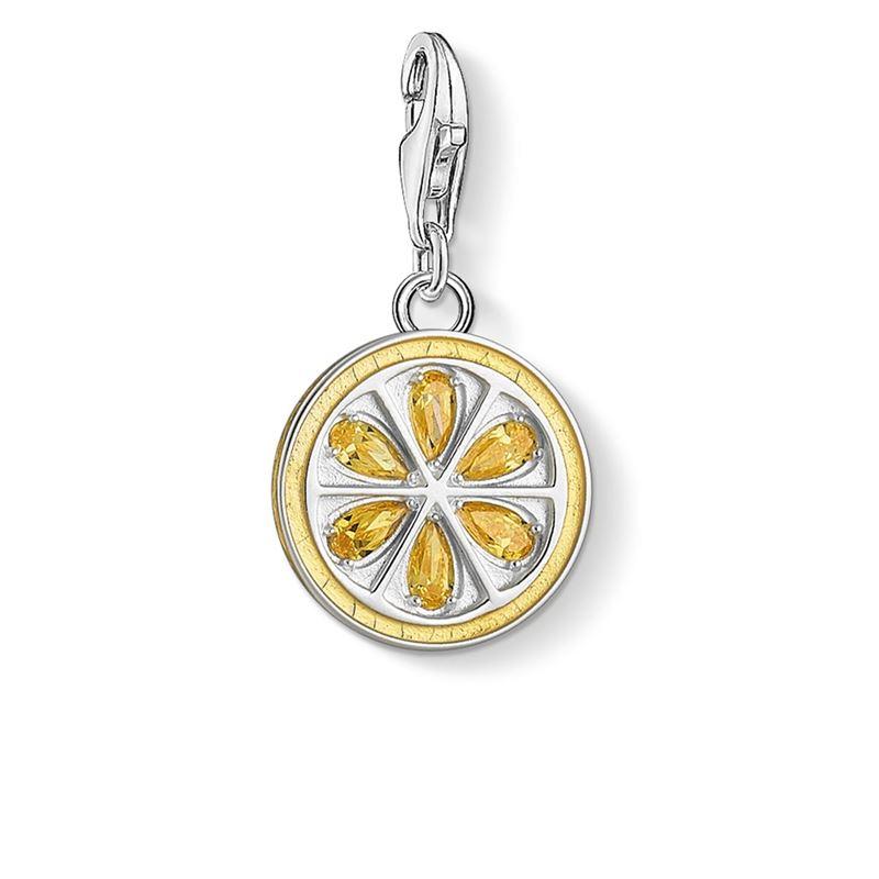 berlocker - Charm hängsmycke citron