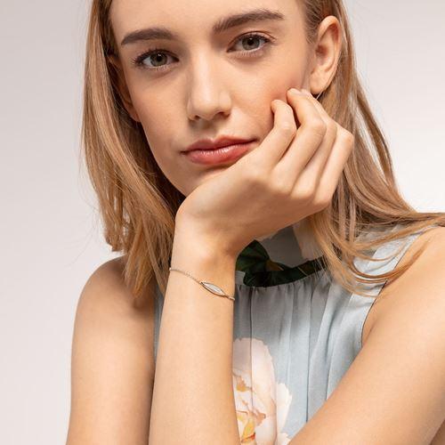 armband - Armand blad silver