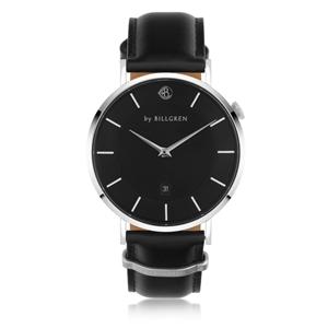 Klockor - Watch Douglas Black-Black leather