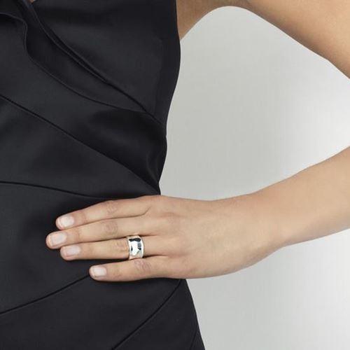Ringar - Moonwalk Wide Ring