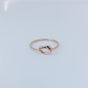 Ringar - Kärleksknut ring